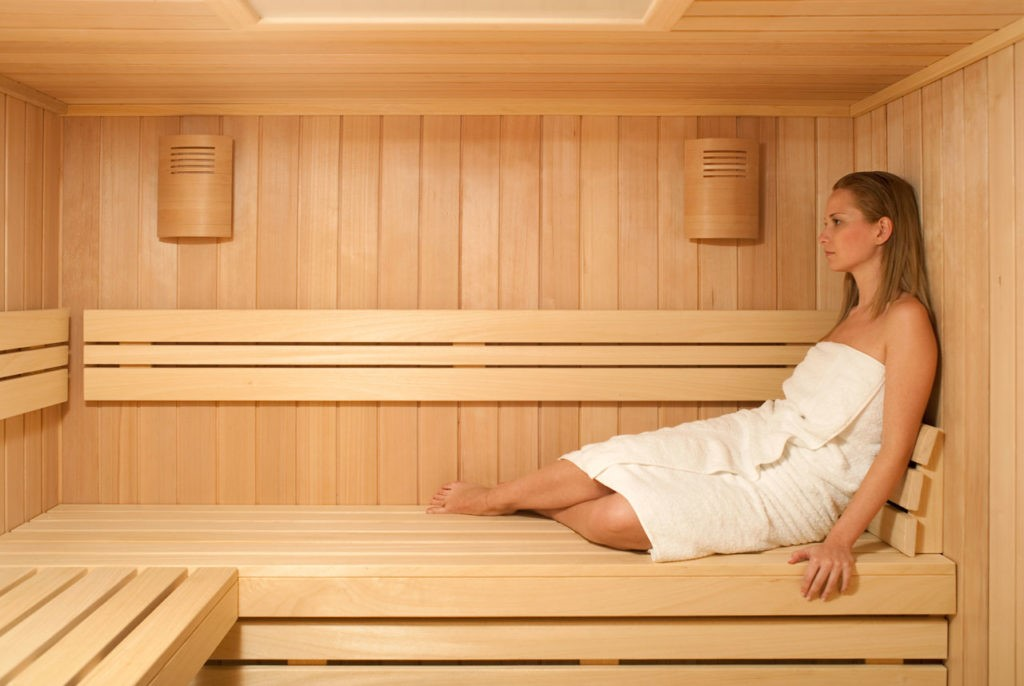 Sauna after workout helps to lose weight